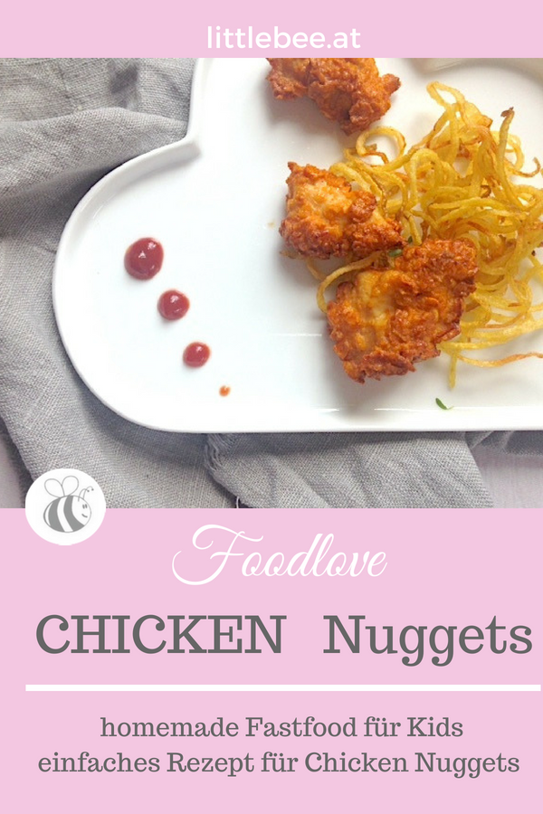 Chicken Nuggets | homemade Fastfood für Kinder