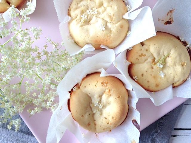 Holunderblüten Muffins | frühlingshafte Idee mit Holler
