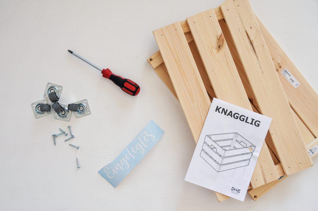 Vorräte Aufbewahren ganz einfach | IKEA Knagglig Hack
