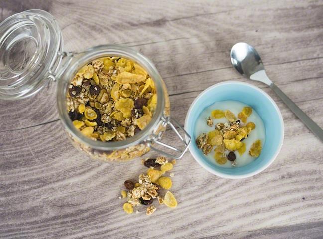 Granola - wir machen unsere FrühstücksCerealien selbst