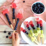 Obstspieße – leckere Obstsnacks für Kinder