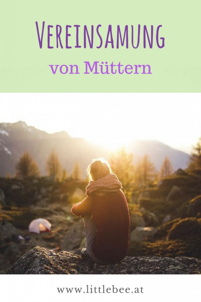 Vereinsamung von Müttern | auf dem Abstellgleis