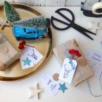 Geschenke verpacken   FREE Printable Päckchenanhänger