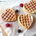 himmlische Waffeln mit Buttermilch   Frühstücksliebe