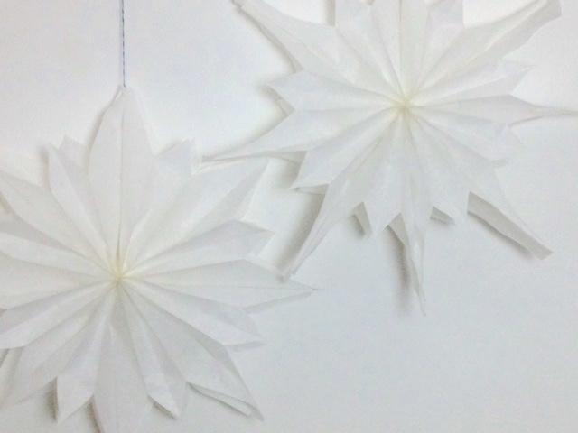 Sterne aus Brottüten | weihnachtliches DIY mit Kindern