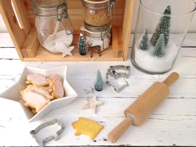 Kekse aus Mürbeteig | mit selbst gemachter Glasur