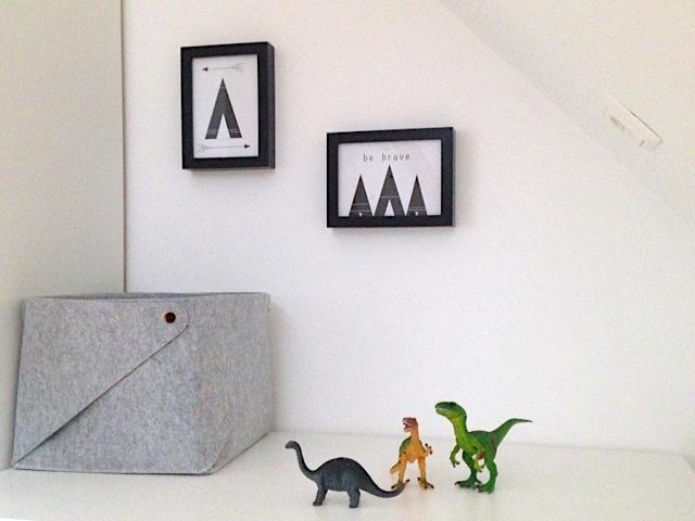 Wanddeko fürs Kinderzimmer | Tipi FREE Printable