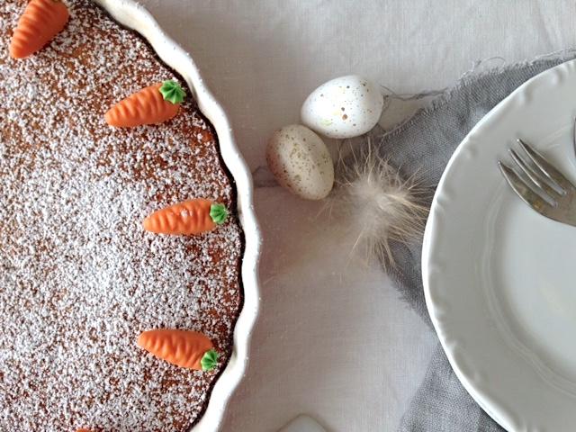 saftiger Karottenkuchen ohne Nüsse