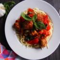 Vegane Meatball Pasta   Gastbeitrag