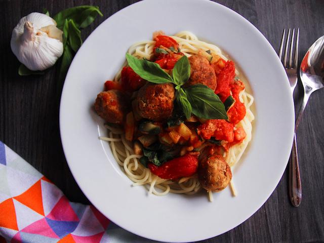 Vegane Meatball Pasta | Gastbeitrag