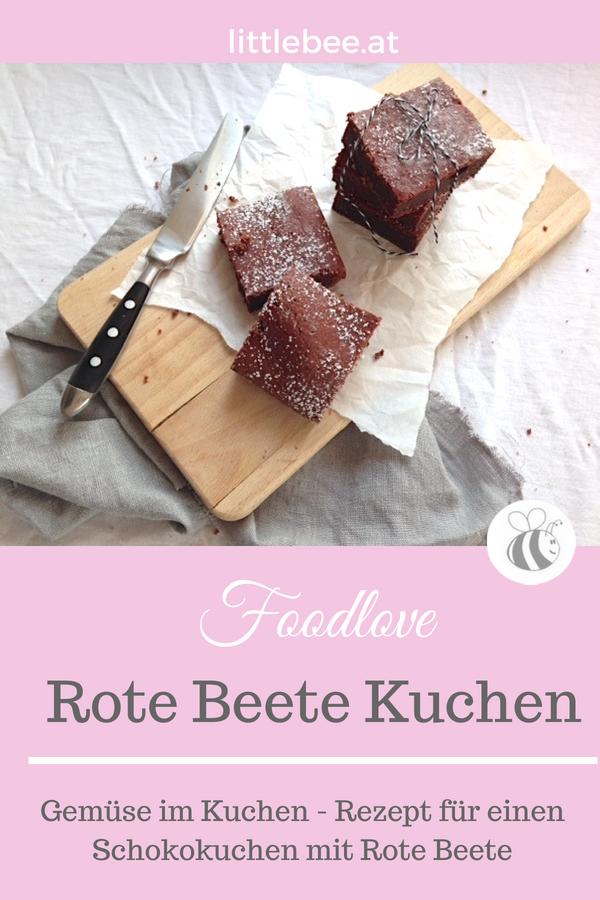 Rote Beete Schokolade Kuchen | backen mit Gemüse
