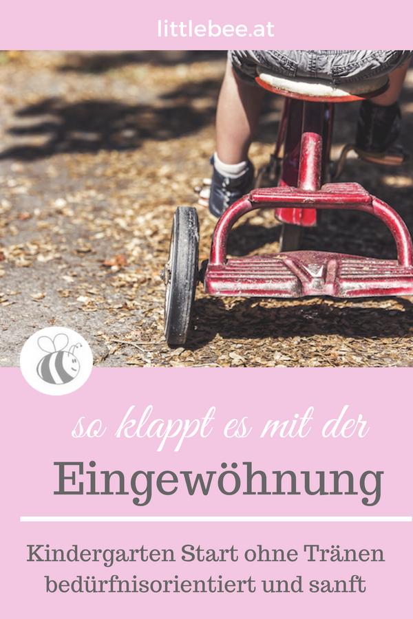 Kindergarteneingewöhnung | so klappt es bedürfnisorientiert und sanft