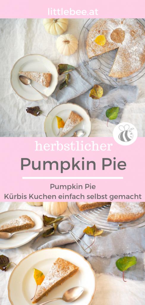 Pumpkin Pie | herbstlicher Kuchen mit Kürbis