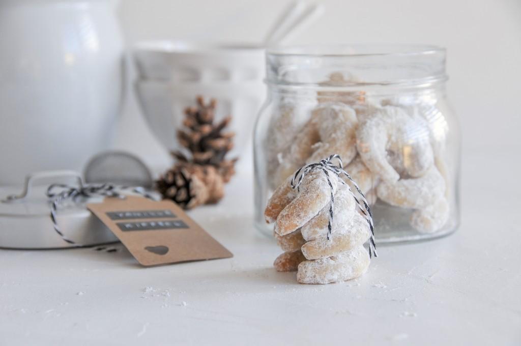 Traditionelles Weihnachtsgebäck.Vanillekipferl Traditionelles Weihnachtsgebäck Für Dein Fest