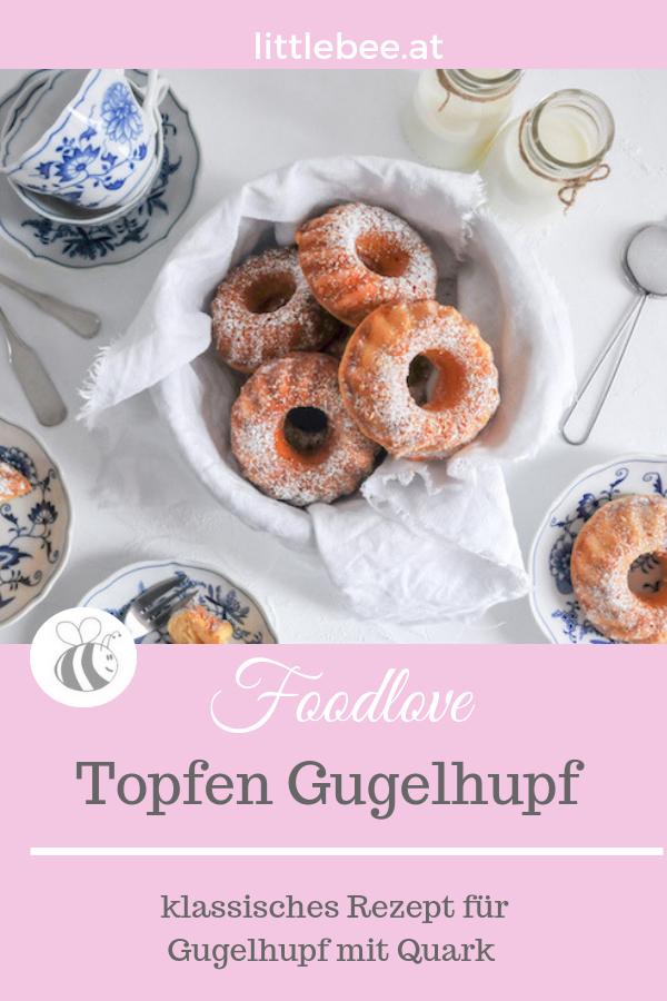 Mini Topfen Gugelhupf | Mehlspeise Klassiker für die Kaffeetafel