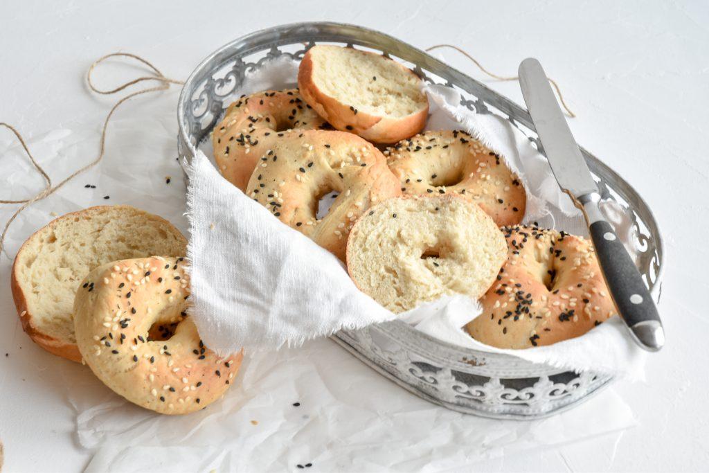 himmlische Bagels | frische Brötchen selbst gemacht