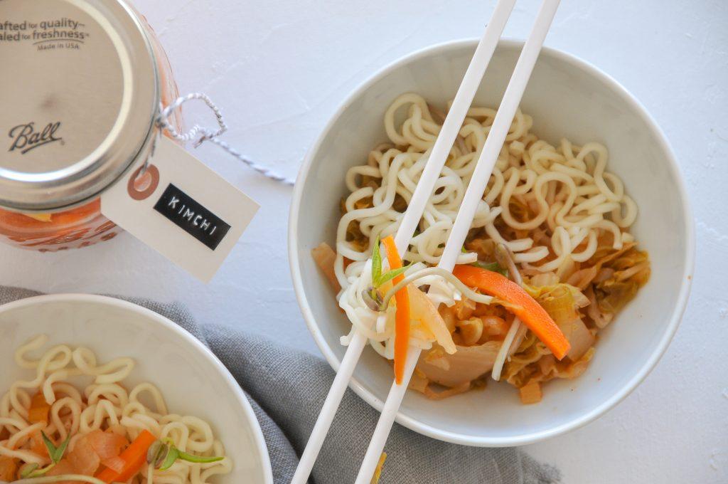 koreanisches Kimchi mit Chinakohl selbst gemacht