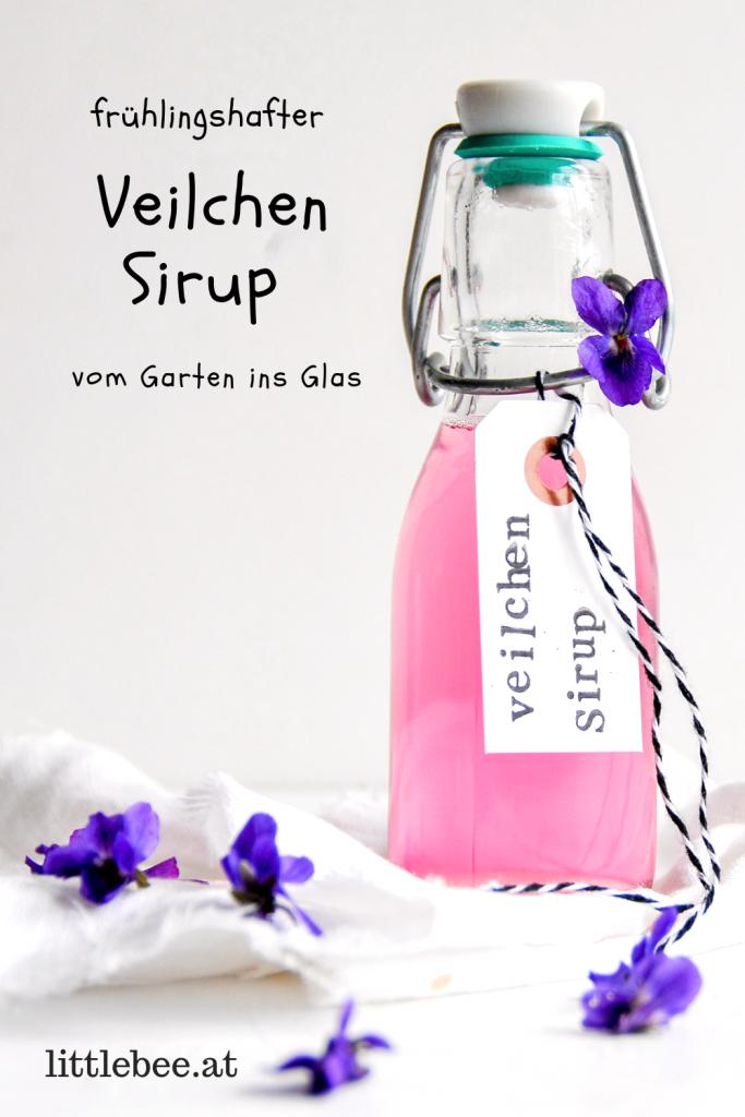 Veilchen Sirup | der Frühling im Glas