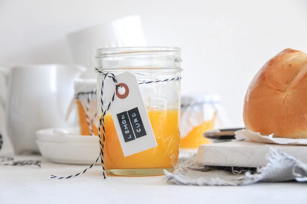 Lemon Curd | cremiger Aufstrich aus frischen Zitronen