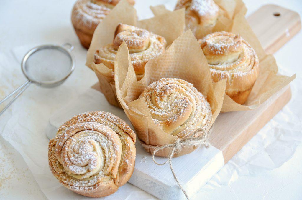 fluffige Cruffins | Muffins und Croissants als perfektes Team