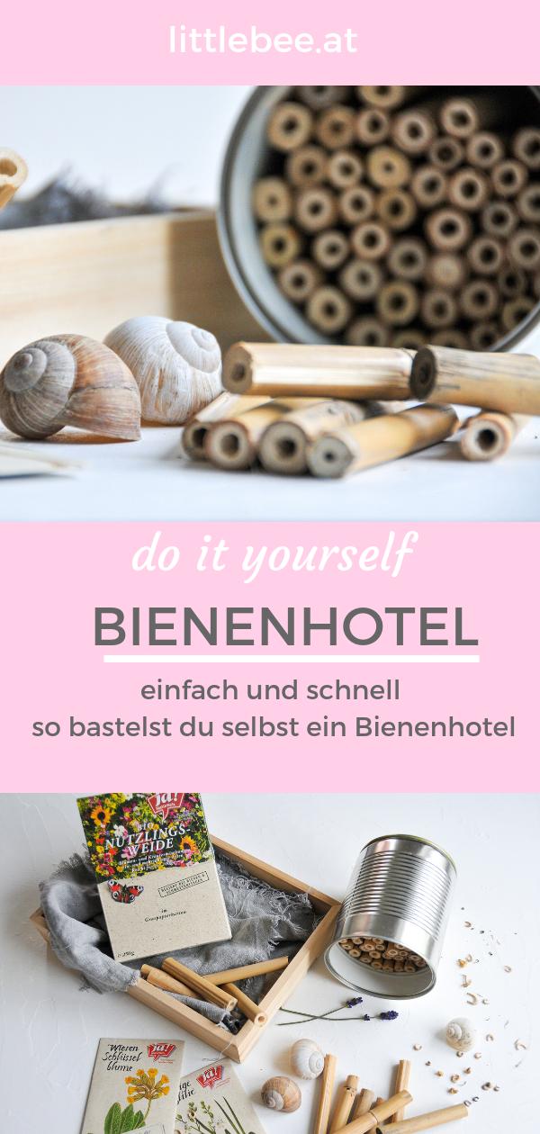 DIY Bienenhotel | mehr Bienen mit der Nützlingsweide von JA! Natürlich
