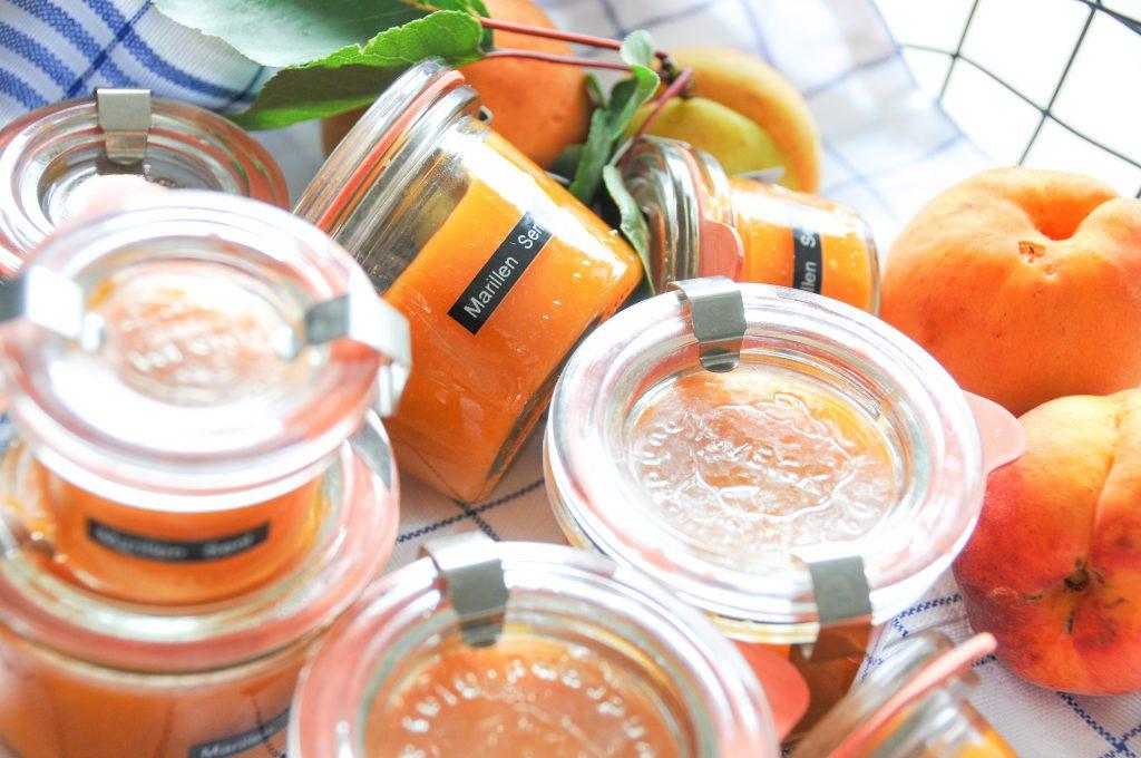 Marillerillensenf selbst gemacht | Marillen Senfsauce Rezept | LITTLEBEE