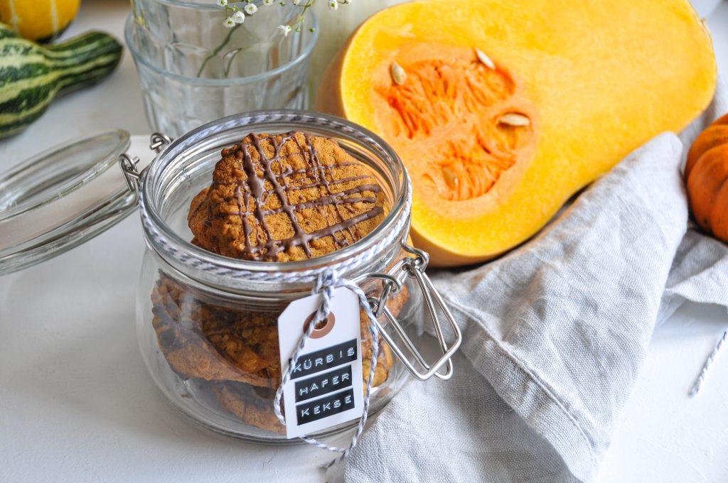 Kürbis Haferflocken Kekse | Ideen mit Kürbis und JA! Natürlich