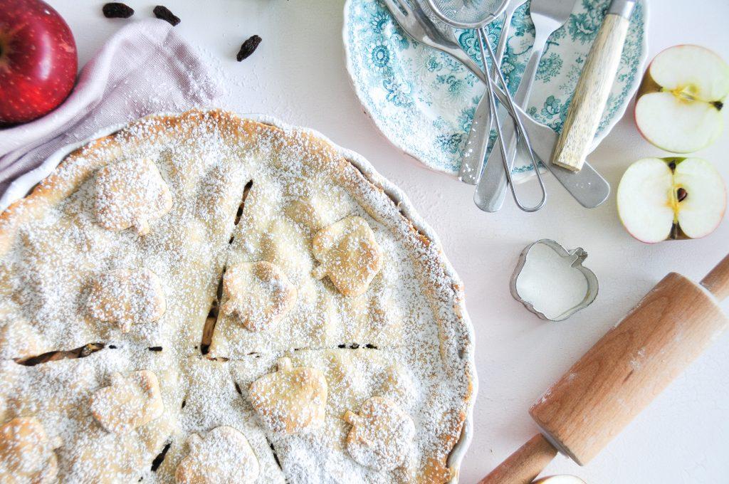 American Apple Pie | Rezept für gedeckten Apfelkuchen