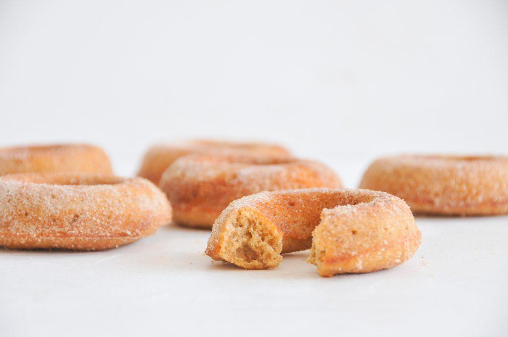 Donuts mit Apfelmus | backen für Kinder ohne Zucker