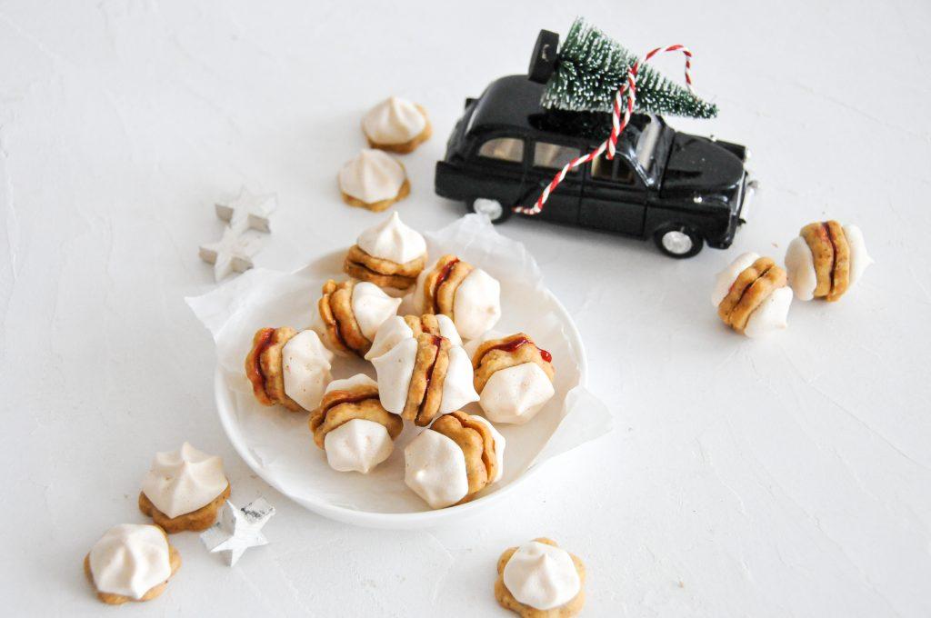 Baiser Kekse | himmlische Kekse für Weihnachten