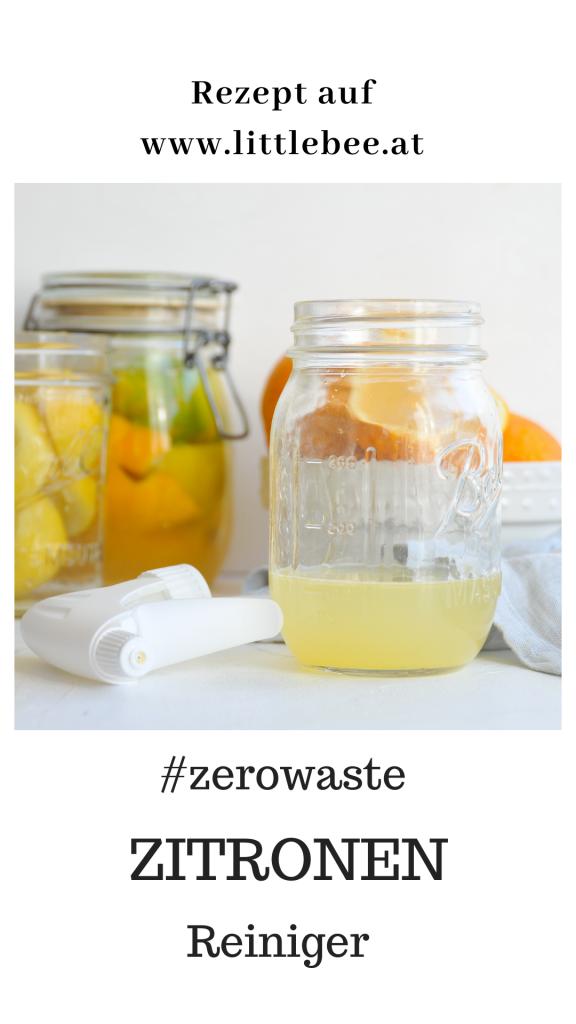 Zitronen Reiniger selbst gemacht | einfache Ideen für mehr Nachhaltigkeit im Haushalt