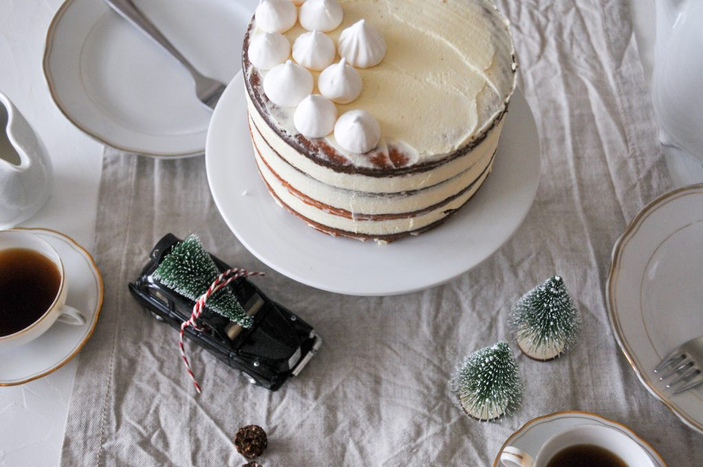 God Jul Weihnachtstorte | winterliche Torte zum Fest