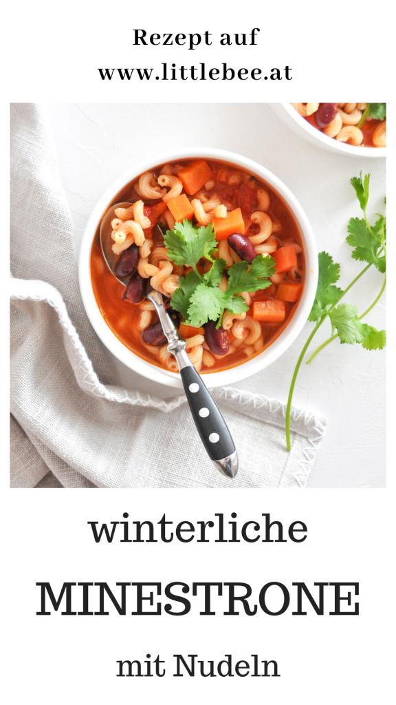 wärmende Minestrone mit Nudeln | Familienküche Michaela Titz