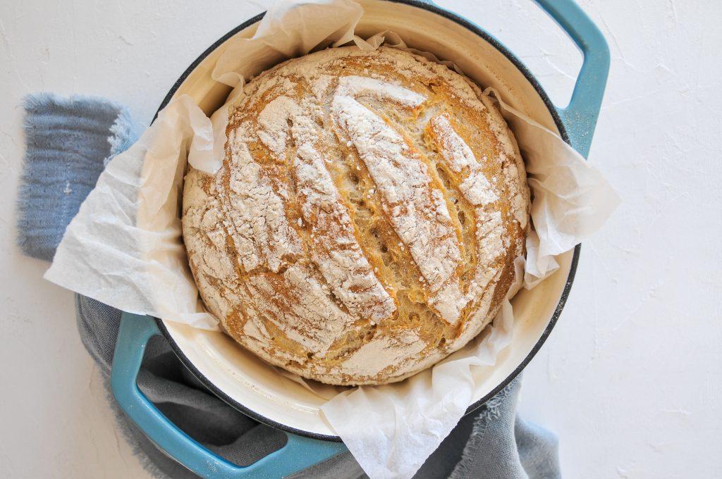 Brot backen ohne Hefe | Dinkel - Weizen Brot mit Sauerteig LITTLEBEE