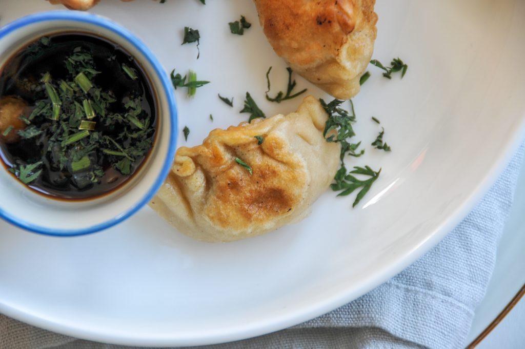 asiatische Teigtaschen | homemade Gyoza mit Gemüse
