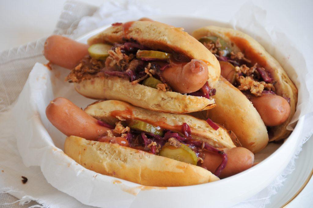 homemade Hot Dogs | Brötchen für Hot Dogs einfach selbst gemacht littlebee