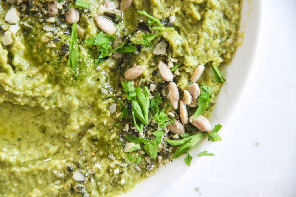 Mungobohnen Hummus | gesunder Aufstrich mit Mungobohnen Michaela Titz littlebee