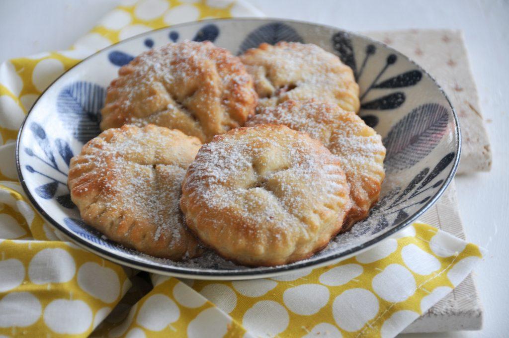 kleine Mini American Pies | fruchtige Apple Bites homemade