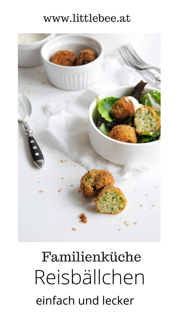 einfache Reisbällchen mit Gemüse | Köttbullar einmal anders