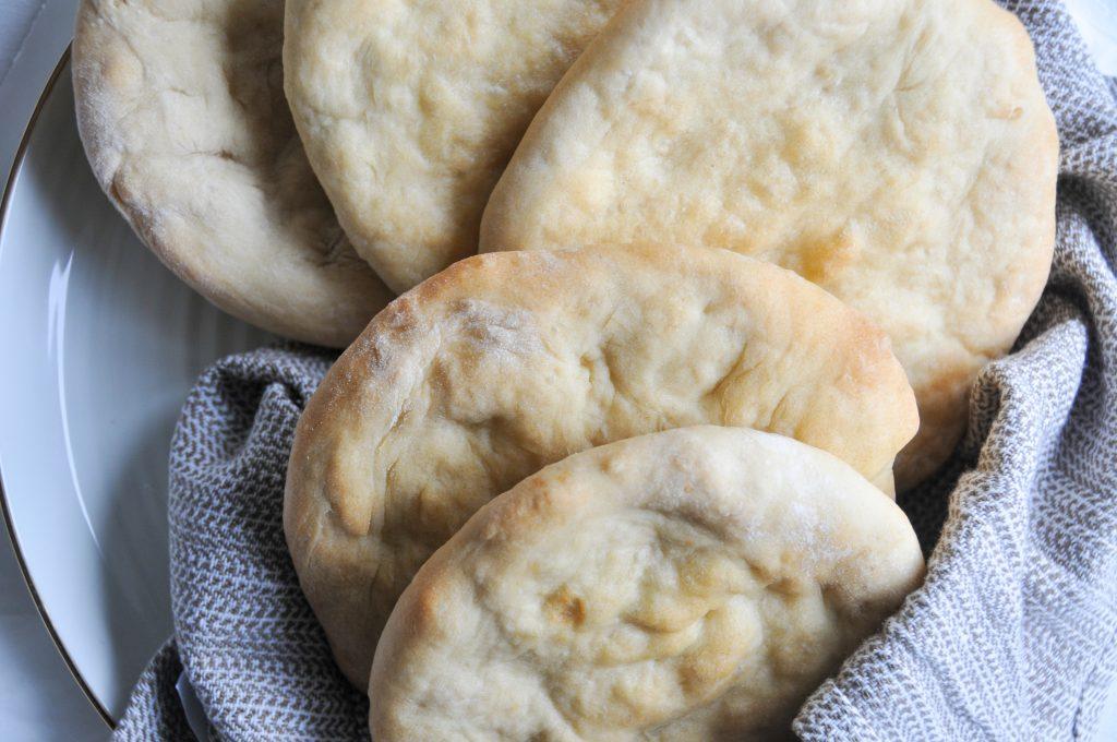 Pita Brot aus dem Ofen | Fladenbrote selbst gemacht
