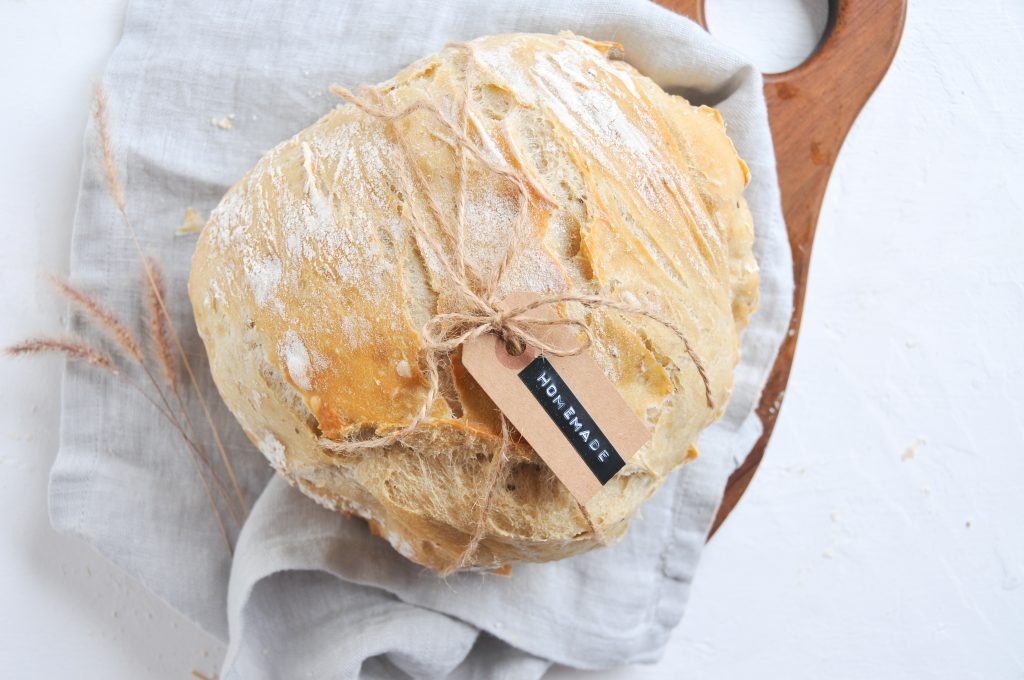 NO KNEAD BREAD | Brot ohne kneten ganz einfach backen