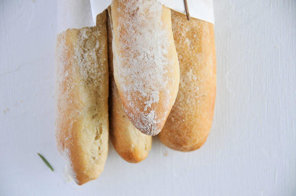 Baguettini | kleine Brotstangen selbst gemacht